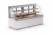 VITRINE 2,00M SUPER TOP PLATINUM REFRIMATE