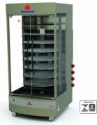 - Estrutura externa em aço inox escovado; - Cavalete desmontável; - Placas refratárias; - Visor em vidro temperado; - Termômetro de controle de temperatura; - Porta tipo guilhotina; - Câmara interna com suportes para 2 níveis de altura; - Acompanha 1 grade; - Modelo a gás em baixa pressão e gaveta móvel; - Modelo elétrico com controle automático de temperatura  (termostato) e tensão 127-220V; - Os modelos PRPI-800 e PRPI-900 possuem queimadores infravermelhos fixados na parte superior da câmara interna, específicos para gratinar;  - Os modelos PRP-1500 são fornecidos com estrutura externa em aço com fino acabamento em pintura epóxi; - No modelo PRP-1500 AT o controlador possui estrutura em aço inox escovado e é fornecido opcionalmente em 127V ou 220V.