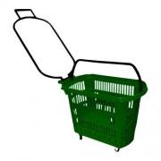 Cesta de Compras Plastica  verde