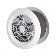 Ventilador Exaustor 25cm Residencial Axial Branco 60W Ventisol